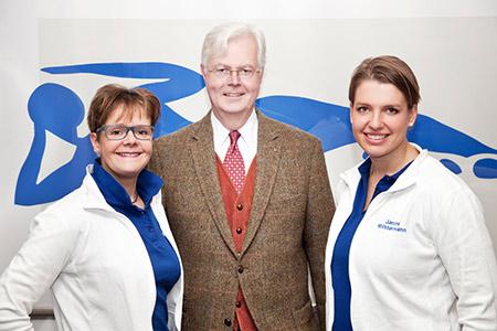 Das Team von Dr. von Hesler